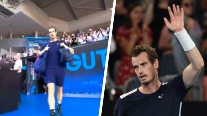 VIDEO. Na geweldige entree haalt hij 2-0-achterstand in sets op, om dan toch te moeten buigen: was dit de laatste match van Andy Murray?