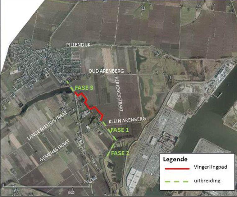 Het Vingerlingenpad wordt uitgebeid waardoor een zachte verbinding ontstaat tussen Kieldrecht en Verrebroek.