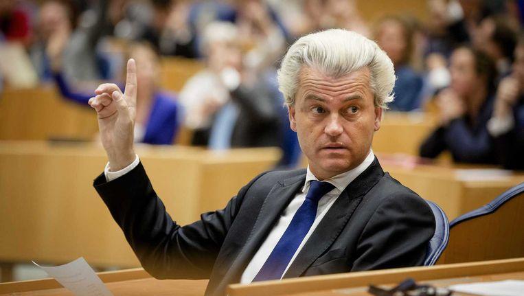 'De PVV is Wilders, Wilders is de PVV. Na hem komt er niets.' Beeld anp
