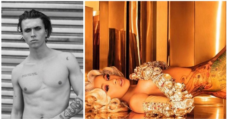 Showbits: Ian Thomas en Cardi B in sensuele shoots.