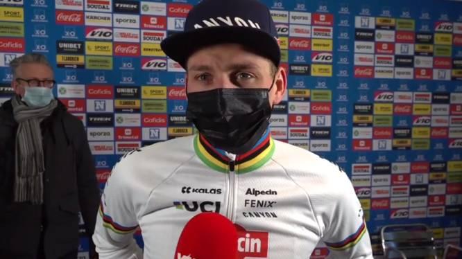 """Mathieu van der Poel: """"Ik ben in goede doen, maar voor het WK wil ik nog beter zijn"""""""