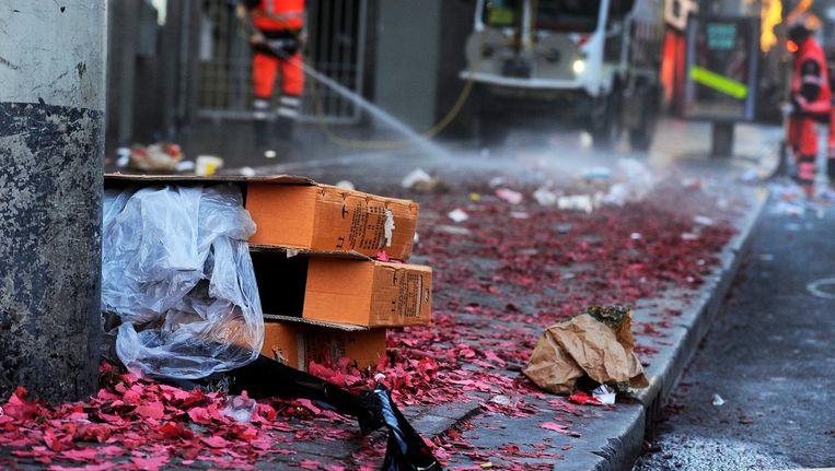 Op 47 plekken mag in Amsterdam geen vuurwerk worden afgestoken Beeld ANP