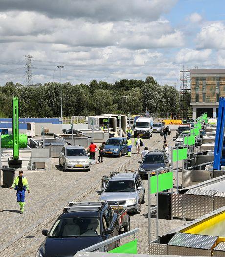 Weinig filekans bij nieuwe Eindhovense milieustraat