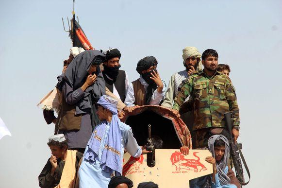 Taliban-militanten in Afghanistan.