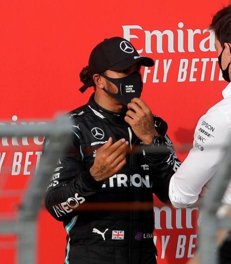 Hamilton: 'Tijd zal het leren of ik er volgend jaar nog bij ben'