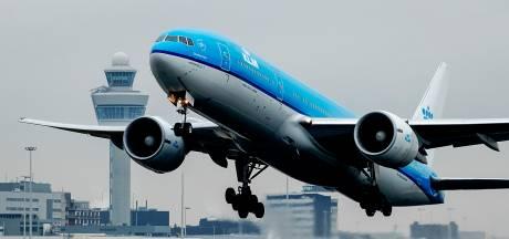 Toestel KLM moet uitwijken door slecht zicht op Schiphol