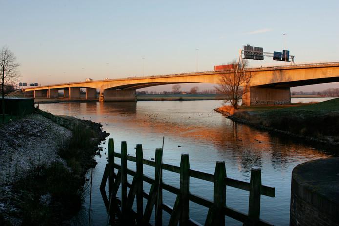 De A28 over de IJssel bij Zwolle. Foto ter illustratie.