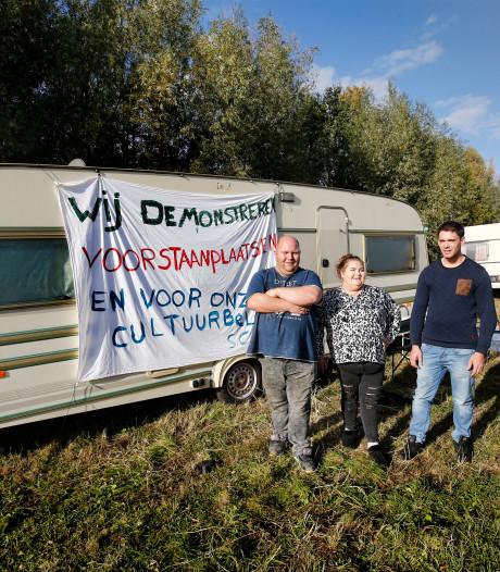 Woonwagenbewoners Catharina (22) en Dorus (32) willen eigen standplaats maar krijgen die niet