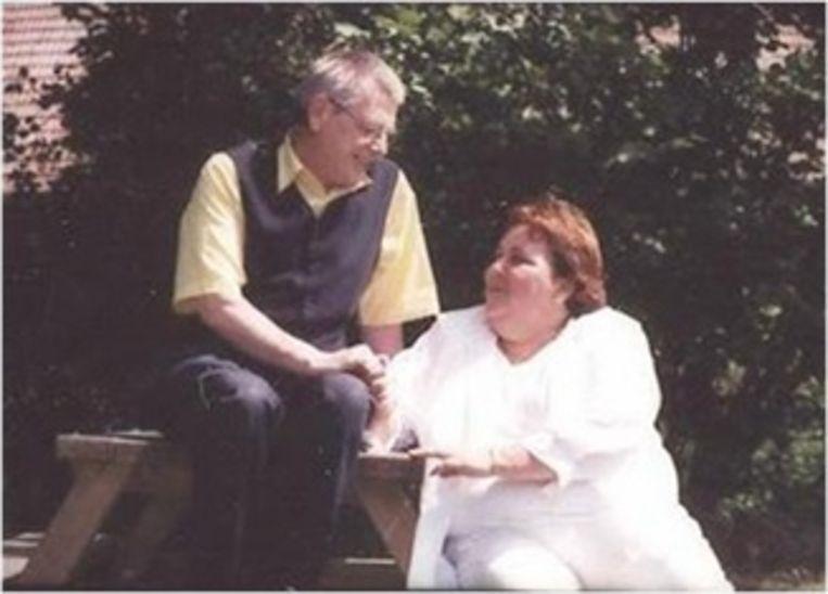 Roosje Sourdeau en haar man Antoine