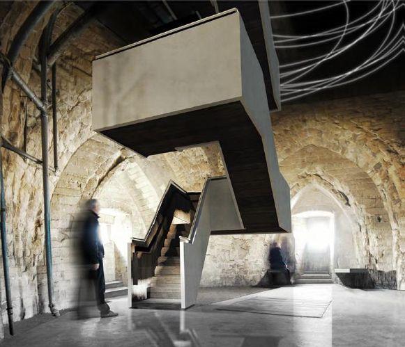 In samenwerking tussen stad en kerkfabriek wordt de toren nu toegankelijk gemaakt.