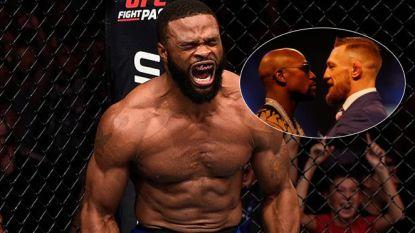 'Money Fight' in de MMA-kooi lijkt nu echt wel op komst. En daar heeft deze kleerkast heel wat mee te maken