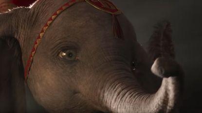 Tim Burton brengt Dumbo tot leven in trailer van nieuwe Disneyfilm