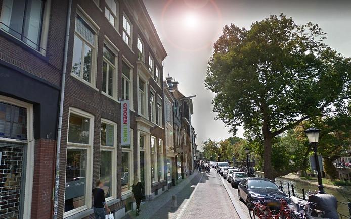 Het hoofdkantoor van GroenLinks aan de Utrechtse Oudegracht.