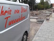 Sof voor fietsenhandelaar Van Uitert door weken vertraagd rioolwerk; 'Er komt geen eind aan'