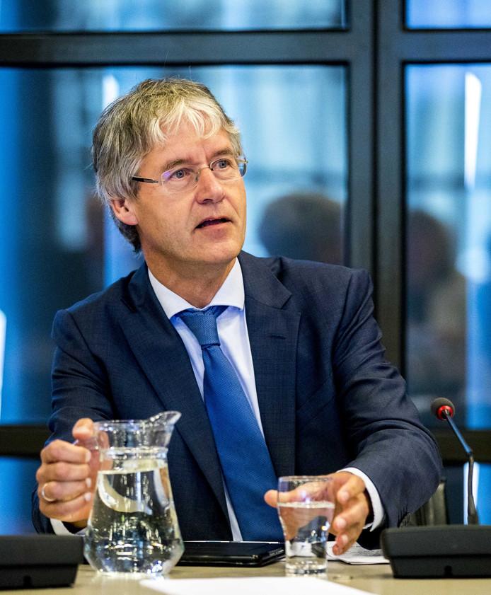 Minister Arie Slob voor Basis- en Voortgezet Onderwijs en Media (ChristenUnie).