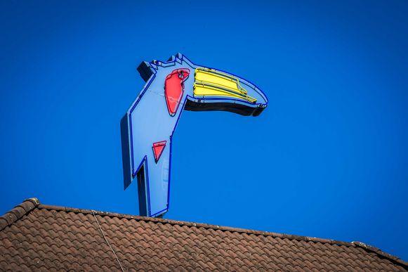 De toekan, het logo van Van der Valk-hotels. De familieketen is ook in ons land actief.