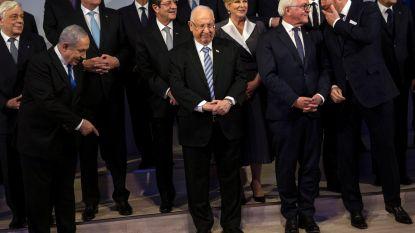 Wereldleiders zakken 75 jaar na bevrijding Auschwitz af naar Jeruzalem
