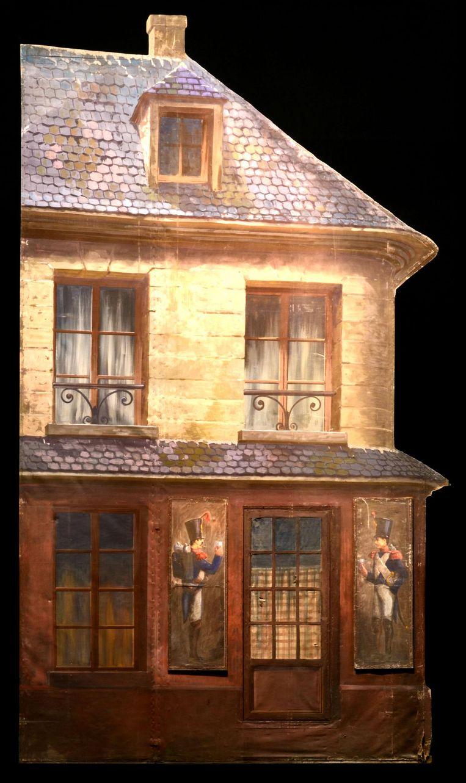 Deze herberg was een zetstuk voor de opera La Bohème