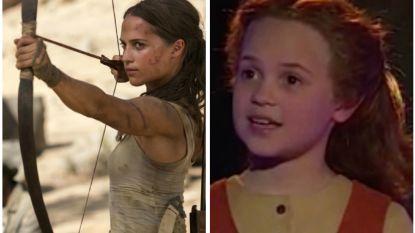 'Lara Croft' Alicia Vikander won als kind een Zweedse talentenjacht