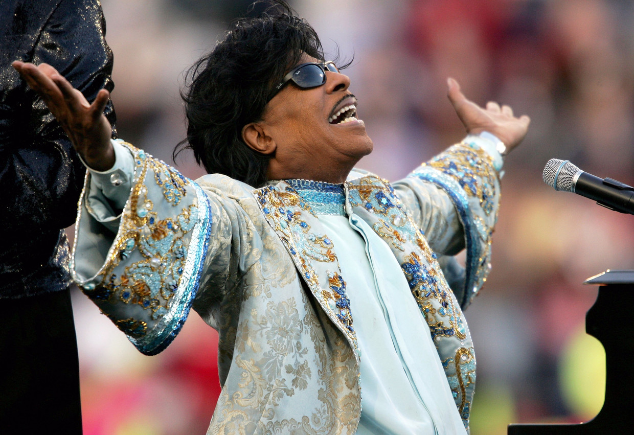 Little Richard in 2014 in Memphis, Tennessee.