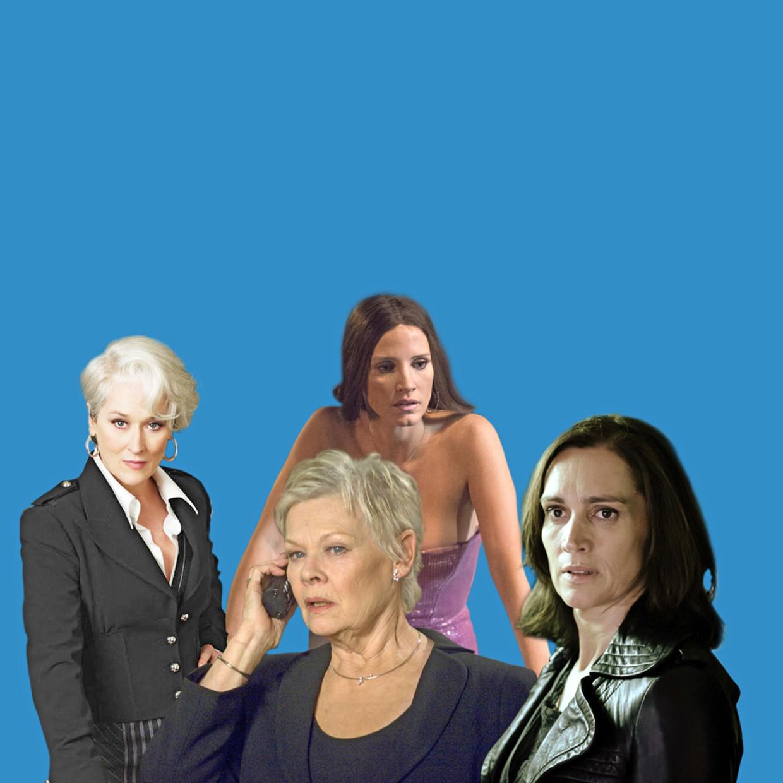 Van links naar rechts: Meryl Streep, Judi Dench, Jessica Chastain en Monic Hendrickx.