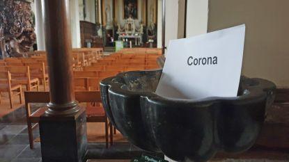 Geen wijwater, geen vredeswens en zelfs geen hand op de kist: ook het Brugs Bisdom neemt maatregelen tegen corona