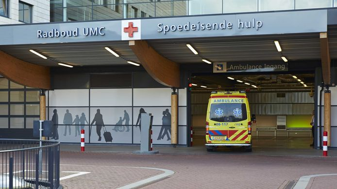 L'hôpital universitaire Radboud, à Nimègue (Pays-Bas)