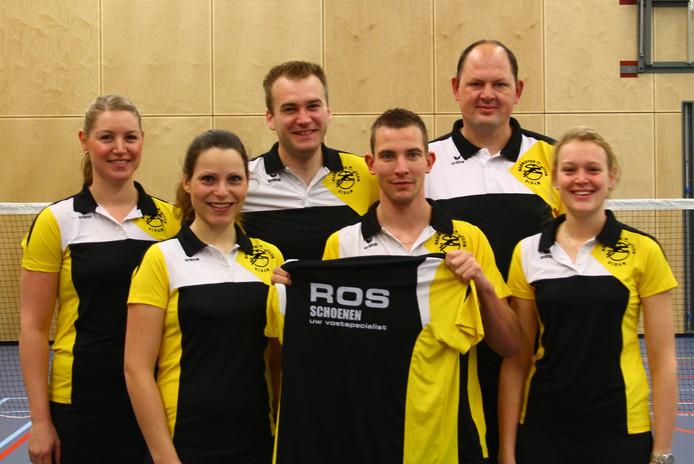 Badmintonclub Didam. Archieffoto
