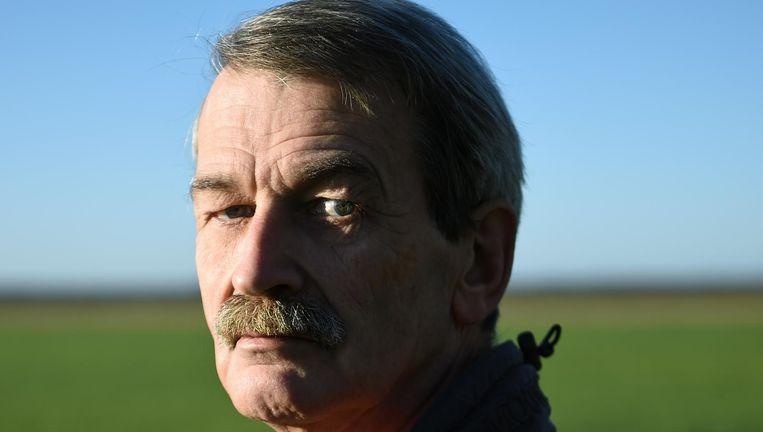 Rob Franken:'Iedereen van Dutchbat III heeft wel een knal gekregen.' Beeld Marcel van den Bergh/ de Volkskrant