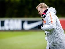 Koeman stoort zich aan 'negatief sentiment' in Nederland