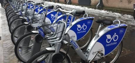 Deelfietsen NextBike steeds vaker gebruikt in Dordrecht