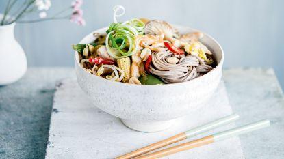 Sandra Bekkari geeft een healthy draai aan Asian cuisine