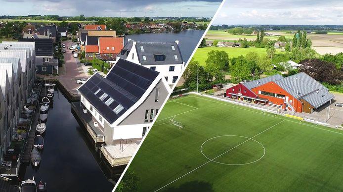 Videostil Stilte in Beeld: Zalk, Grafhorst, Wilsum