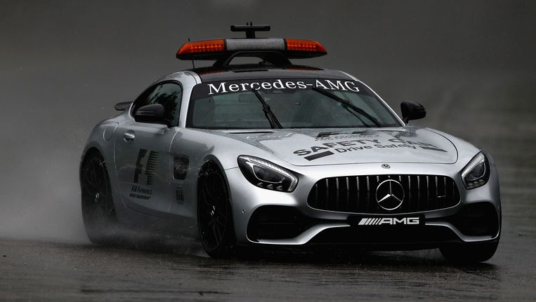 De safety car.