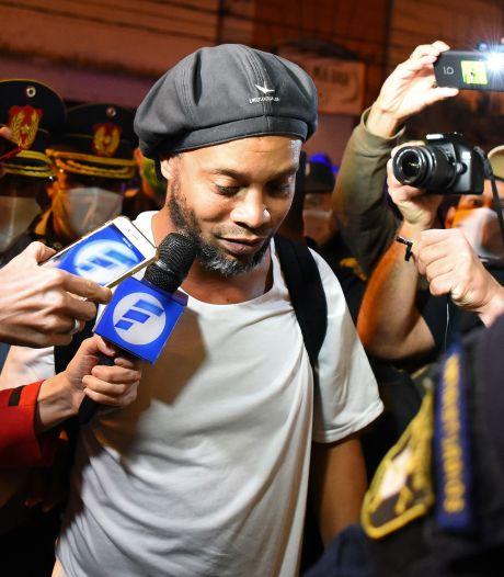 Ronaldinho blijft in Paraguay onder huisarrest