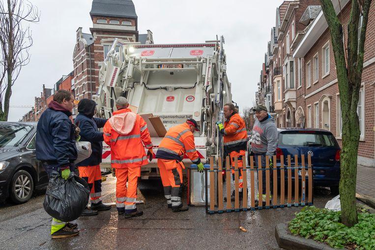 Verspreid over 15 dagen hebben onze diensten ruim 320 ton grofvuil gecollecteerd