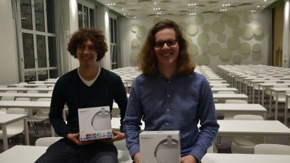 Ewout Van Schil (20) wint grootste hackathon van het land