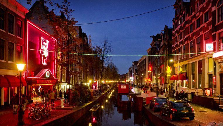 De Wallen in Amsterdam. Beeld ANP