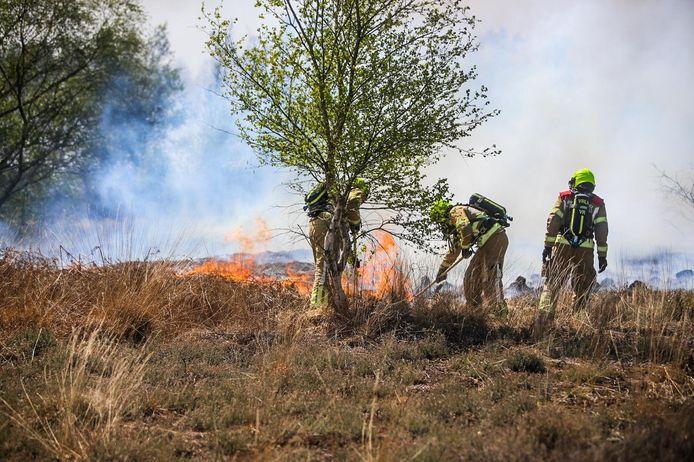 Grote brand Deurnsche Peel.
