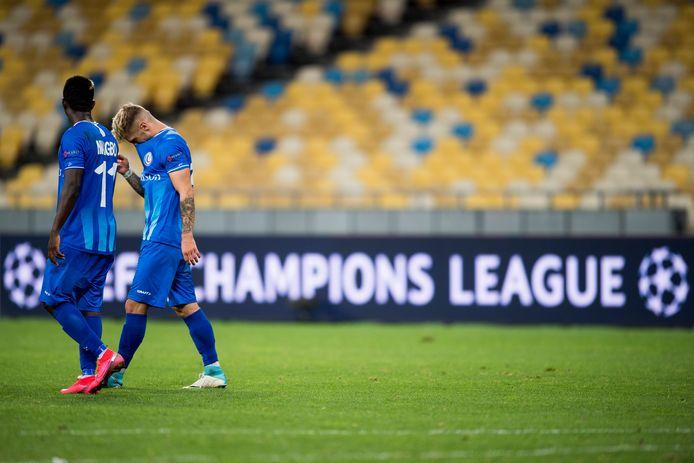 Pas de C1 pour les Gantois, apathiques face au Dynamo Kiev.
