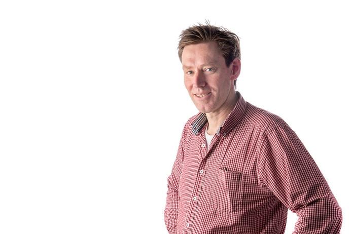 Journalist Marten de Jongh