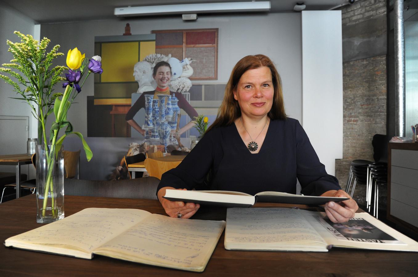 Directeur Marjan Ruiter van het Zeeuws Museum.