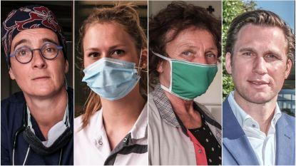 """Zij stonden in de vuurlinie in het Ieperse Jan Yperman Ziekenhuis: """"De vele sterfgevallen kwamen soms hard aan, maar we hebben samen een front gevormd tegen Covid-19"""""""