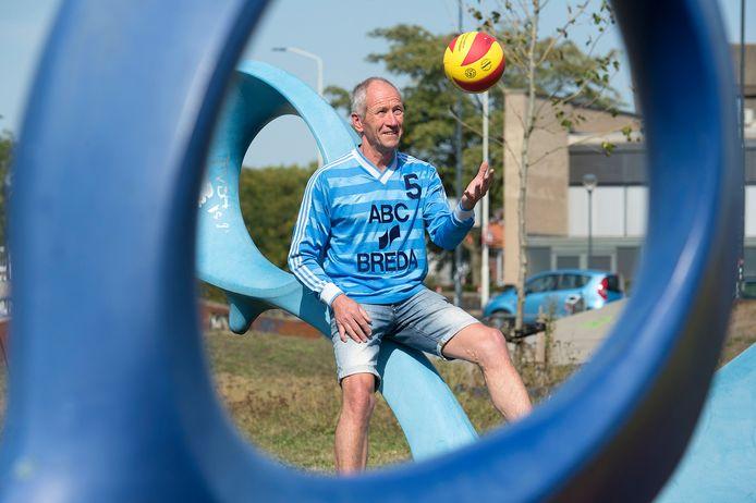 Aan de tijd dat Brevok thuis was in sportcentrum De Scharen in Breda bewaart Paul van Rijthoven goede herinneringen. Net als aan zijn volleybalvriend Willy Gommeren.