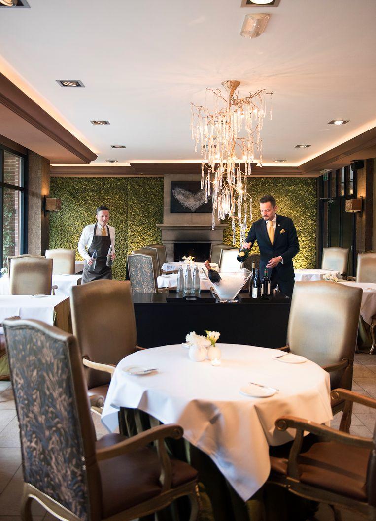 Restaurant Merlet is een hotel en restaurant in Schoorl. Het heeft sinds 1998 een Michelinster. Beeld Els Zweerink