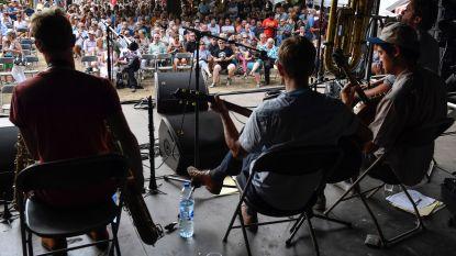 Jazz klinkt in stadspark