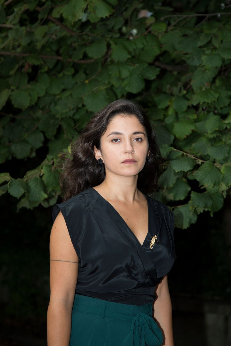 Teresa Ibrahim: 'Geen hoop in Beiroet, geen perspectief,  geen eerlijke overheid. Dat is de pijnlijke realiteit.' Beeld Lotte Bronsgeest