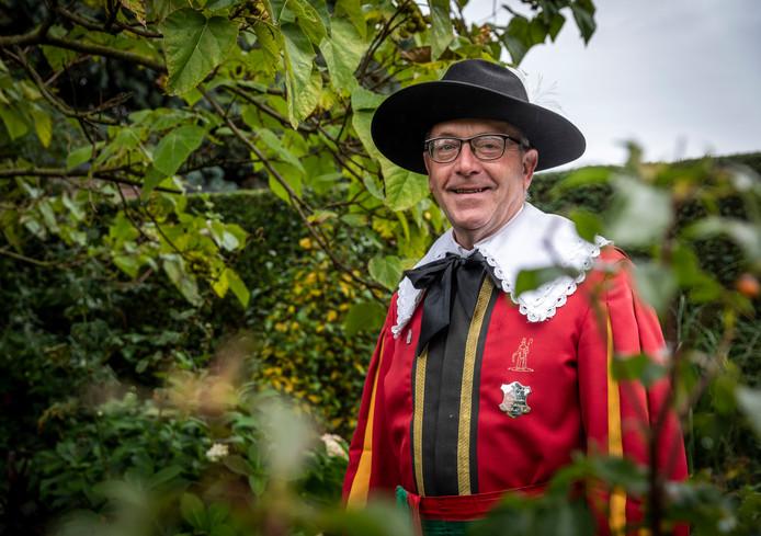 Arno Verberkt is vijftig jaar lid van het Bakelse Sint Willibrordusgilde.