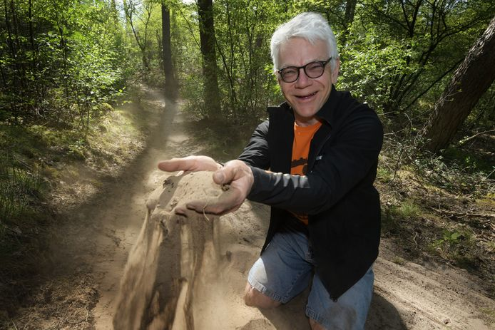 """Bert Lam: ,,Door de droogte holt de kwaliteit van het parcours hard achteruit."""""""