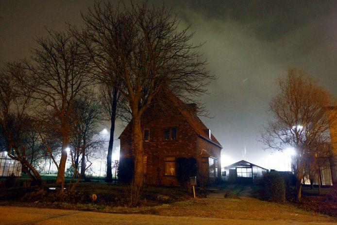 Een voorbeeld van lichtoverlast elders. Dit is niet in Gorinchem. Foto ter illustratie.